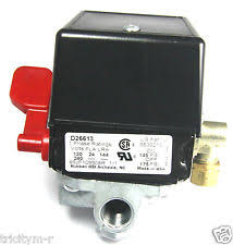 craftsman air compressor switch 5140117 71 air compressor pressure switch d26613 175 145 craftsman devilbiss