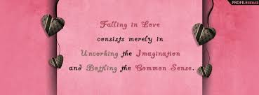 Facebook Quotes And Saying Magnificent Falling In Love Quote Facebook Cover Best Valentine Pictures