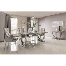 grey dining room furniture. Arianna Marble Dining Table Grey Room Furniture T