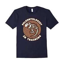 paleontologist in training t shirt dinosaurs gifts