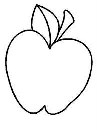 Kleurplaat Fruitmand