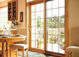 pella sliding glass door replacement patio doors key lock reviews with blinds
