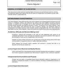 Best Solutions Of Insurance Claims Representative Resume Sample On