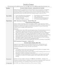 Claims Processor Resume Perfect Claims Processor Resume 71 For