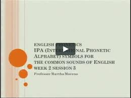 The links labeled am and br play sound recordings where the words are pronounced in american and british english. English Phonetics Tc 23 Ipa International Phonetic Alphabet On Vimeo