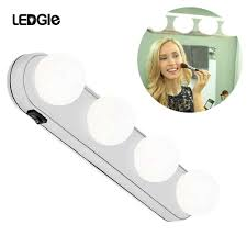Suction Cup Lights For Mirror Hollywood Led Mirror Lamp Plasticvanity Lights Suction Cup