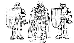 Storm Trooper Coloring Pages Printable Star Wars Coloring Pages