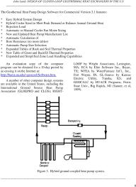 Geothermal Heat Pump Design Calculation Design Of Closed Loop Geothermal Heat Exchangers In The U S