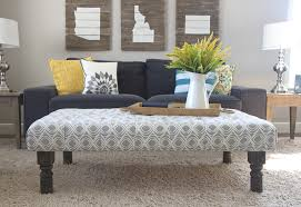 tufted ottoman coffee table diy furnitures