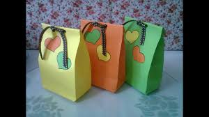 diy 1 cute paper bags for gift