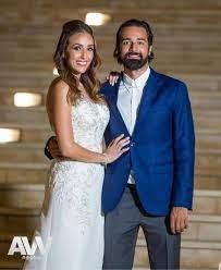 أحمد حاتم وزوجته بعد عقد قرانهم #عرب_وود - ArabWood - عرب وود