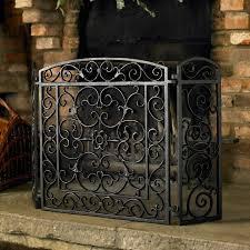shelves attractive metal fireplace screen 17 marvelous 8 wrought iron screens contemporary duqaa com black cast