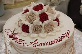 Bests Greetings Under Happy 3rd Wedding Anniversary Cake Images
