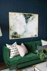 green velvet sofa ideas living room