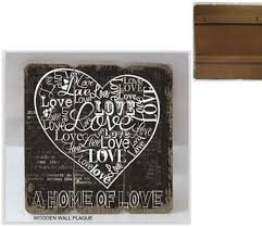 Love Plaques Quotes Gorgeous China Chic Wood Trim Brand Wooden Plaque HomeLove Theme Series