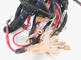 norton commando lucas wiring harness 54960723 1970 74 cloth bound lucas harness for norton commando