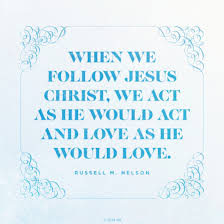 Lds Love Quotes Simple As He Would Love