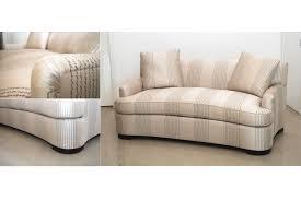 Living Room Chaises Curved Sofa Custom Curved Loveseat Custom Sofas Chaises