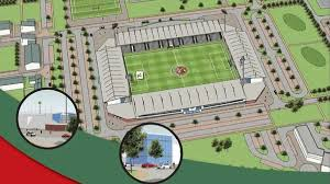 Stadium Planning Design Nis Crusaders Fc Planning New Ground With Educational