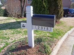 mailbox post ideas. Mailbox Post Ideas White