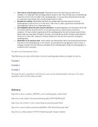 Autobiography Outline Example How Write A Good 4 Simple Furthermore