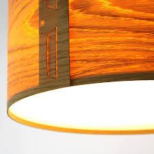 wood veneer lighting. tab oak veneer light shade wood lighting o