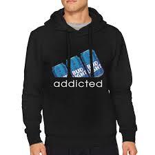 Bud Light Hooded Sweatshirt Amazon Com Sbbiegen886wo Men Bud Light Addicted Breathable