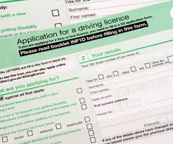 drivers licence form how to apply for a provisional licence ingenie young drivers guide