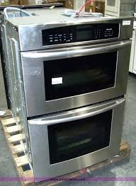 thermador double wall oven image for item thermador 27 double wall oven convection