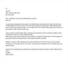 Credit Administration Cover Letter Sarahepps Com