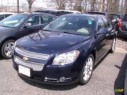 2011 Imperial Blue Metallic Chevrolet Malibu LTZ #47528820 ...