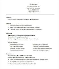 Resume Formats Word Beauteous 48 Resume Format For Teacher In Ms Word Malawi Research