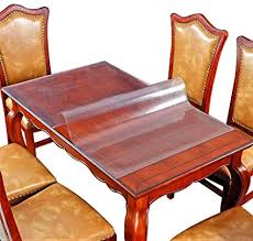 Protective Table Pads Dining Room Tables Simple Amazon Wood Furniture Protector Marble Glass Tabletop Protector