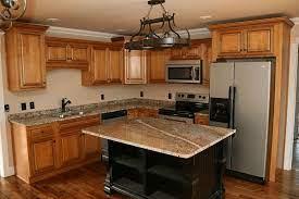10x10 Kitchen Cabinet With Island Granite Counter Top 10x10 Kitchen Kitchen Layout Kitchen Remodel