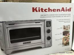 kitchenaid kco273ss 12 convection digital countertop oven stainless steel new