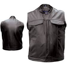 leather vest for bikers