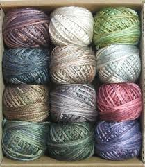 Valdani Thread Color Chart Valdani Luxury Silk Floss Cottage Smoke 6 Strand Thread Hand Dyed 12 Spool Vak1005