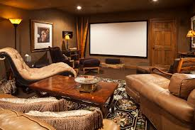 dark media room. Movie Themed Home Theater Eclectic With Dark Wood Coffee Table Media Room