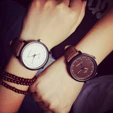 popular vintage style watches buy cheap vintage style watches lots luxury brand korean simple style watch men vintage big dial watches casual women ladies dress quartz