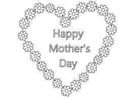 Small Picture Happy Mothers Day Coloring Pages 2017 Free Printable Mothers Day