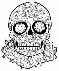 Want to make your kid learn about various designs, pretty colors & smell? Sugar Skull Coloring Pages Coloring Rocks