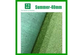 40mm 4 Tone Artificial Grass Synthetic Turf Lawn Carpet 2m Width