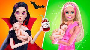 12 Cách Làm Đồ Cho Búp Bê / Mẹ Ma Cà Rồng Vs Mẹ Quyến Rũ - YouTube