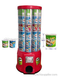 Mechanical Vending Machines Extraordinary Pringles Vending Machine From China Manufacturer AUK VENDING LIMITED