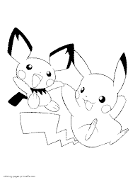 Small Picture Coloring pages POKEMON