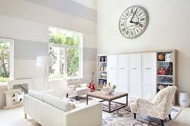 living room paint ideas with accent wall15 Fabulous Living Rooms with Striped Accent Walls