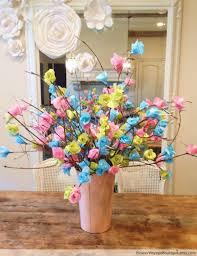 Tissue Paper Flower Centerpieces Paper Flower Centerpiece Ideas Mid South Bride