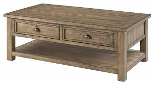 monterey solid wood coffee table