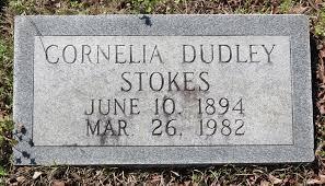 Cornelia Dudley Stokes (1894-1982) - Find A Grave Memorial