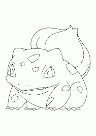 Small Picture Pokemon Bulbasaur Coloring Pages Tagged With Bulbasaur Coloring